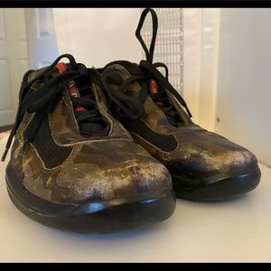 Prada Men's Casual Camouflage Shoe
